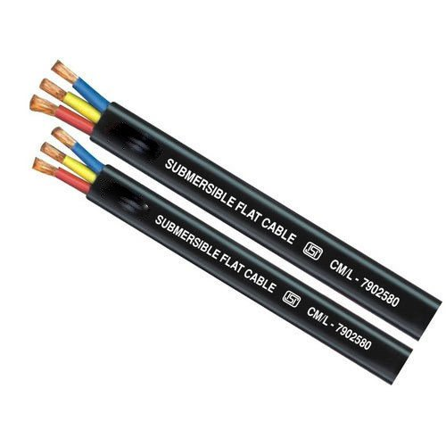 3 Core PVC Submersible Pump Cable, Size: 1.5 Sq mm