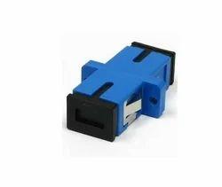 Plastic Adaptor Fiber SC Adapter, For Network