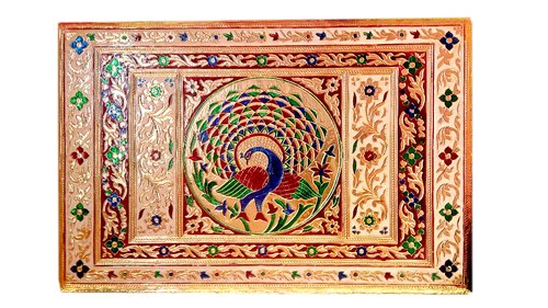 Wooden Handicraft Bethak Patala Bajoth Pooja Chowki for Wedding