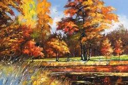 Modern Naag The Brushy Oil Paint