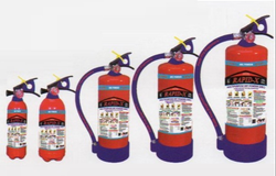 Red A B C Dry Powder Type Fire Extinguisher, Size: 2 Kg, Capacity: 2Kg