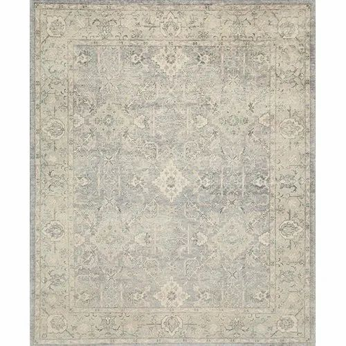 3ce4b2814f Jaipur Rugs Hand Knotted Wool Blue Colour Carpet and Rug at Rs 1200 ...