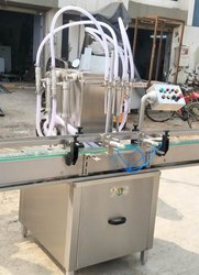Glass Bottle Filling Machine