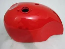 New Bsa A65 Spitfire 4 Gallon Red Painted Steel Petrol Tank