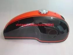 New Benelli Mojave Cafe Racer Dual Painted Petrol Gas Fuel Tank With Cap