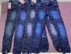 Faded Mens Crushed Jeans, Waist Size: 28, 30, 32, 34