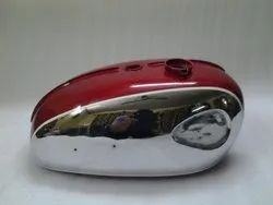 New Bsa A65 Thunderbolt,Lightning, Royal Star Cherry Painted Chrome Petrol Tank