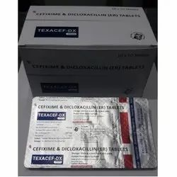 Cefixime and Dicloxacillin Tablets