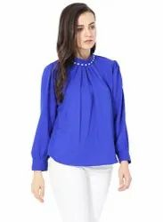 Blue Designer Top
