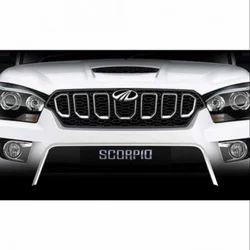 Scorpio S11 Front Grill Chrome Latest Model