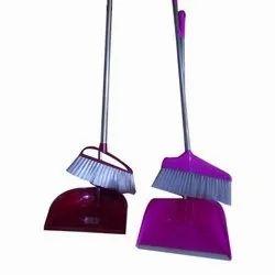 Dust Pan Set with Broom