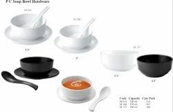 PolyCarbonate Soup Bowl Hotelware