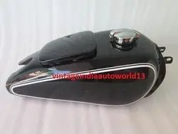 New Bmw R71 Black Painted Gas Fuel Petrol Tank Vintage German Motorcycle (Repro) With Monza Cap