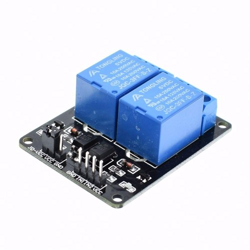 Electronic Components - 2 Channel Relay Module Shield for