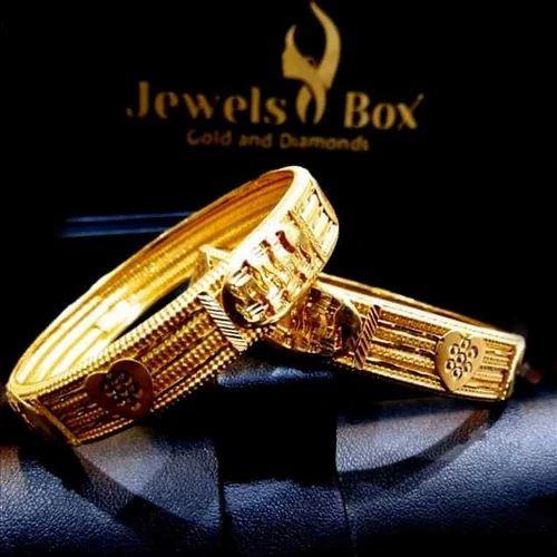 Delightful Gold Bangles