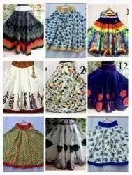 Multicolor Printed Benglori Satin Silk