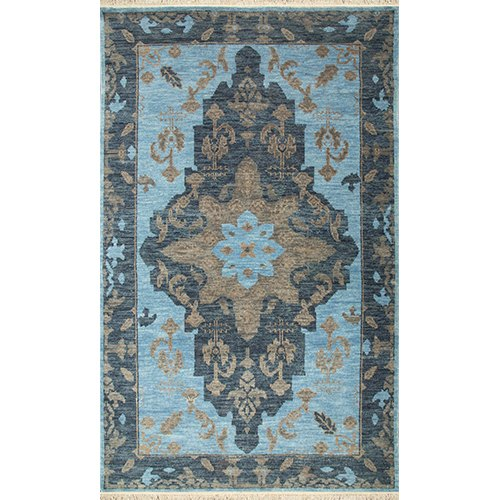 2304c44f6d Jaipur Rugs Hand Knotted Wool Blue Colour Carpet and Rug at Rs 1000 ...