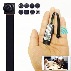 CMOS Plastic 4K Full HD Wireless Hidden Camera for Office, Packaging Type: Corrugated