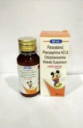 Paracetamol, Phenylephrine HCL & Chlorpheniramine Maleate Suspension
