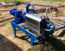 Cow Dung Dewatering System