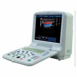 Portable Color Doppler Ultrasound Scanner, for Hospital