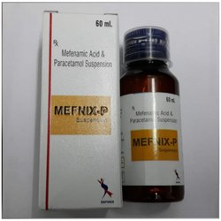 Mefenamic Acid Paracetamol Suspension