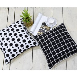 Dots to Lines Cushion