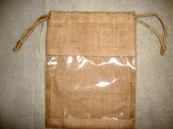 Jute Pouch With PVC
