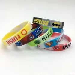 Custom Rubber Wristband, Packaging Type: Packet