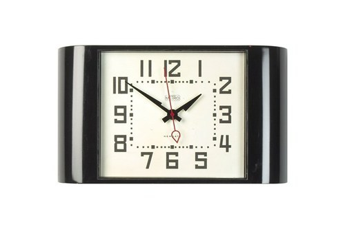 Black Wood Promotional Wall Clocks, Packaging Type: Cardboard Box, Size: 11 Inch