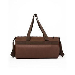 533e1fa50c2e Brown Plain Gym Duffel Bag