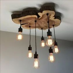 Wooden Decorative Light for Home