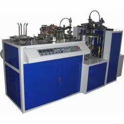 Semi-Automatic Paper Cup Making Machine