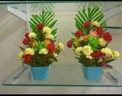 Mixed Plastic Artificial Flower Bouquet, 20