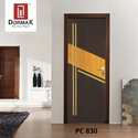 PC-830 Designer Waterproof Wooden Door