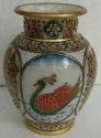 Gold Work Marble Vases