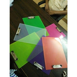 Acrylic Clip Board