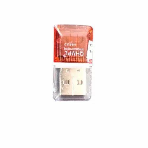 Plastic USB QHMPL Card Reader, Screen Size: 3.2 Inch