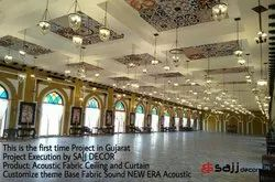 Acoustic Fabric Ceiling and Curtain