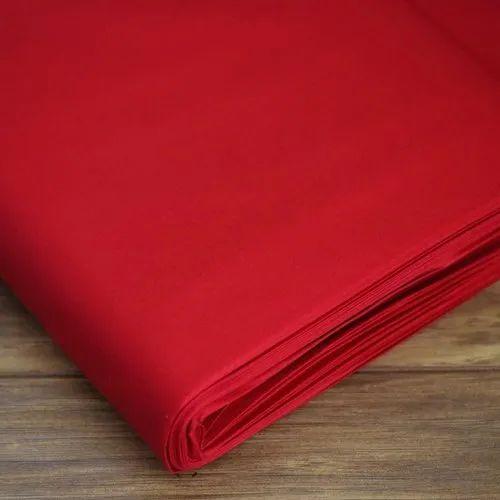 Plain Cotton Fabric, GSM: 100-150 GSM