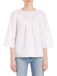 Cotton Emroidered Top