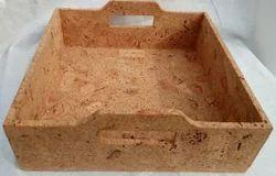 Cork Box Tray