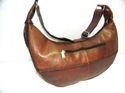 Vintage Leather Designer Tote Bag