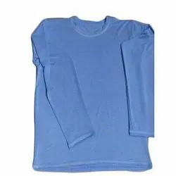 Plain Full Sleeves Mens Full Sleeve Cotton T-Shirt