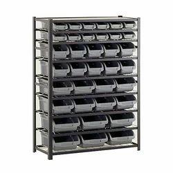 Mild Steel Bin Storage Rack