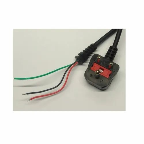 3 Pin Indian South African Plug W Fuse Power Cord For Electric Fittings Rs 245 Unit Id 21960681988