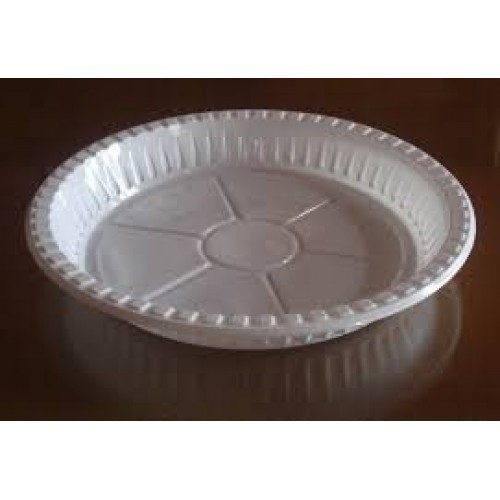 Round White Disposable Plastic Plate  sc 1 st  IndiaMART & Round White Disposable Plastic Plate Rs 2 /piece Gulab Engineering ...