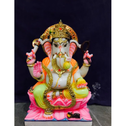 Lord Ganesha Marble Sculpture