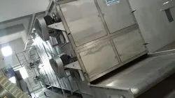 Vegetable Dryer, Capacity: 100 Kg 4000kg/Hr