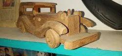 royal car in wood